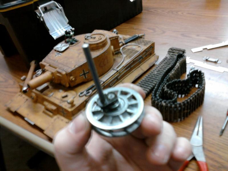HennTec idler system @ ETO armor. Photo110