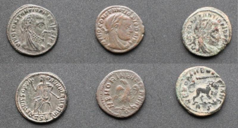 Les monnaies de Consécration de Barzus - Page 5 Chlore14