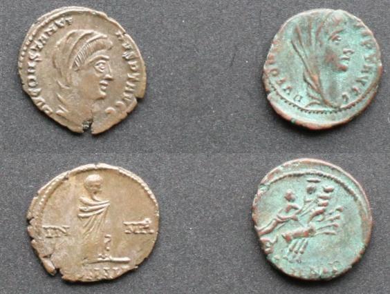 Les monnaies de Consécration de Barzus - Page 5 Consta10