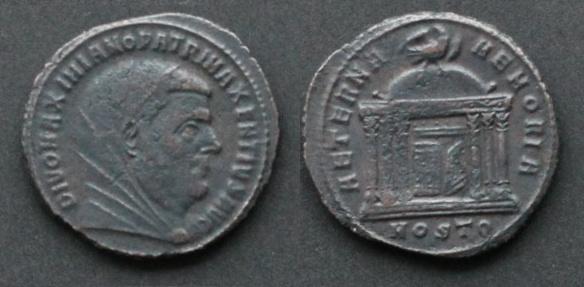 Les monnaies de Consécration de Barzus - Page 4 Maximi11