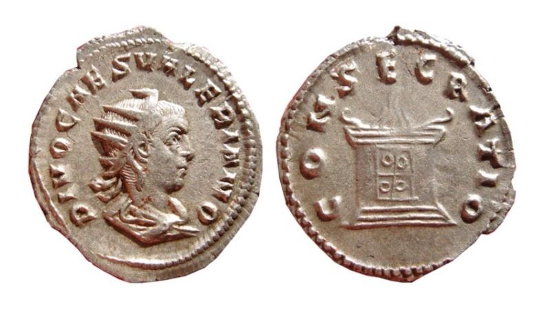 Les monnaies de Consécration de Barzus - Page 3 Valeri10