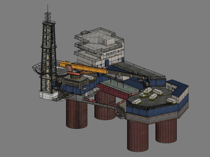 [31] Oil Rig 1000px10