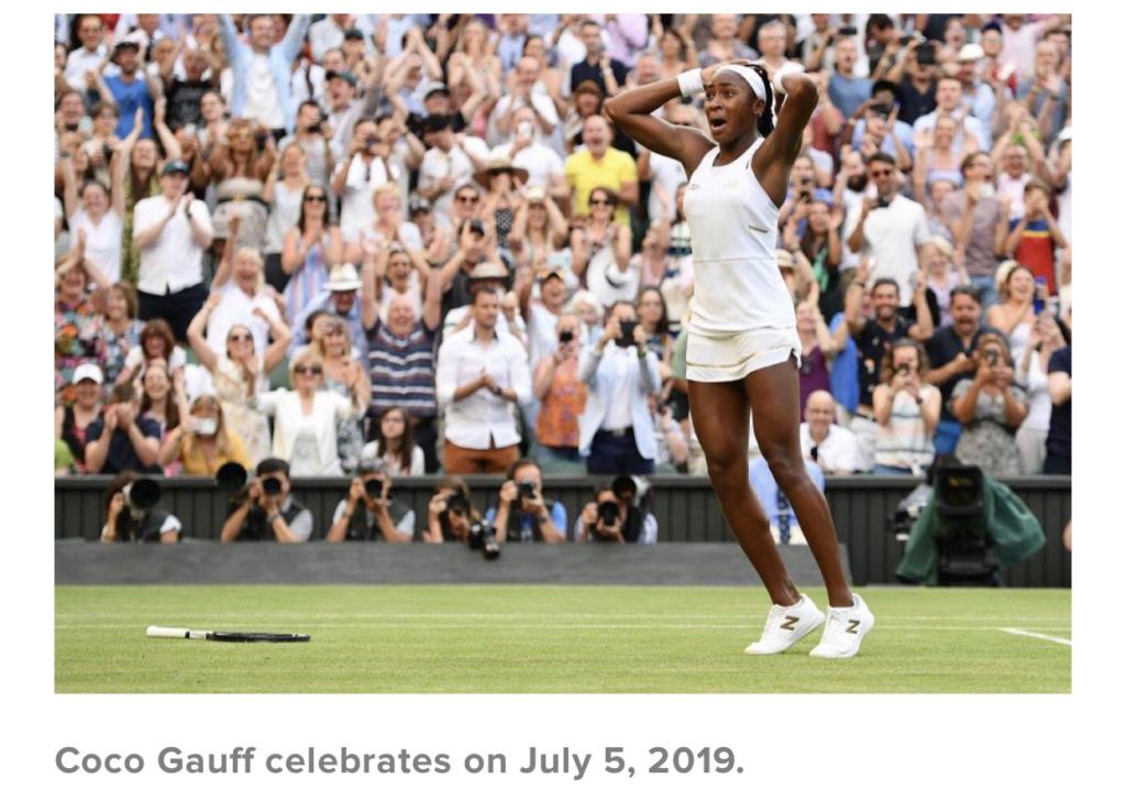 Coco Gauff phenomenal Wimbledon wins! D57f9710