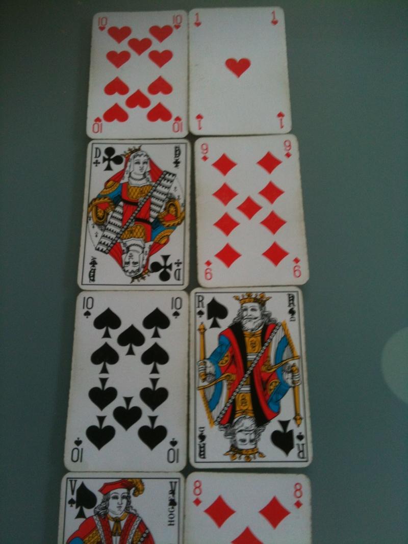 interprétations des cartes dans le jeu de 32 cartes Tirage11