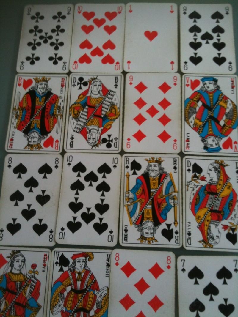 interprétations des cartes dans le jeu de 32 cartes Tirage13