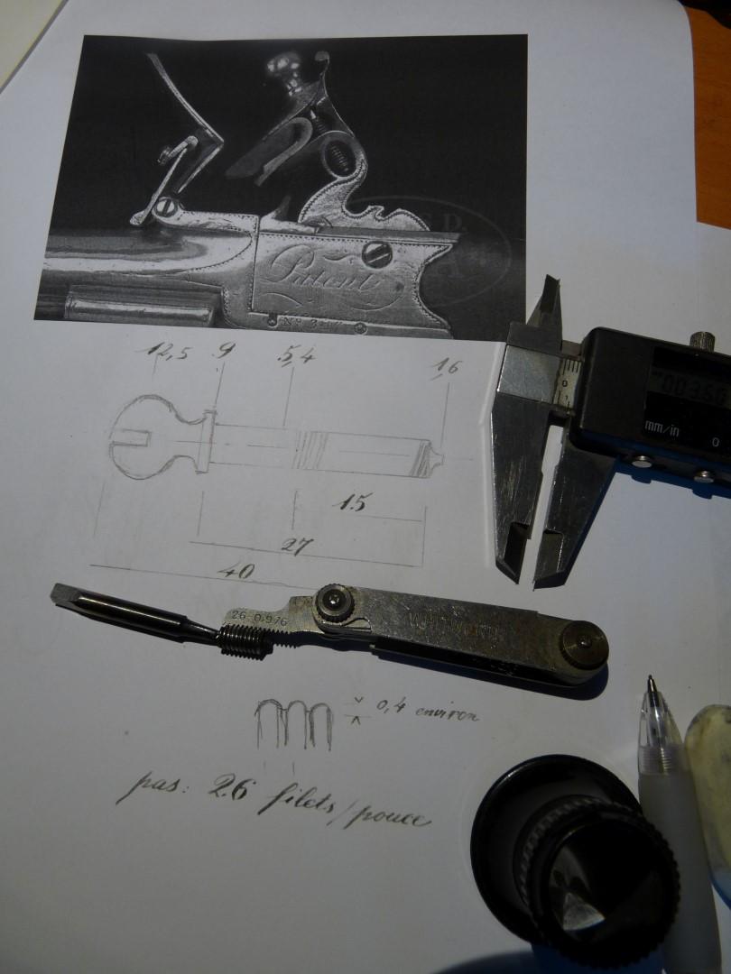 Refaire des filetages avce un peigne P1250018