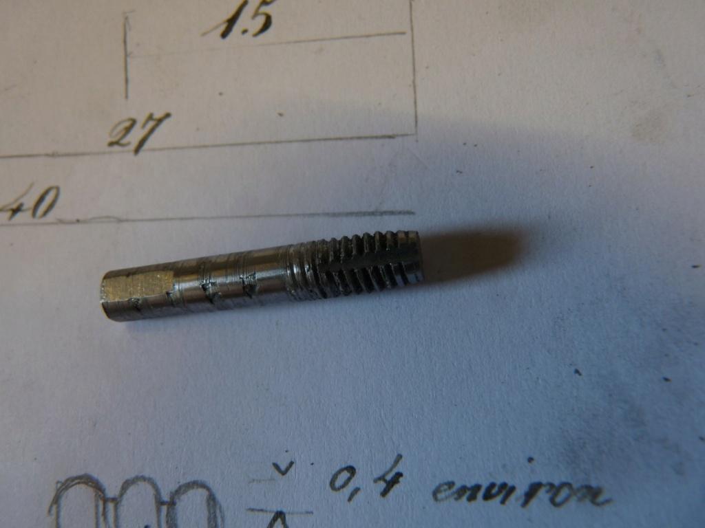 Refaire des filetages avce un peigne P1250113