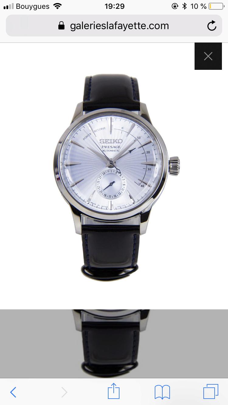 Changer bracelet montre acier  7a055610