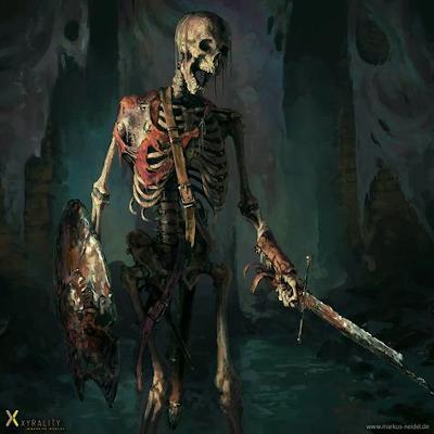 Élőholt lények Skelet10