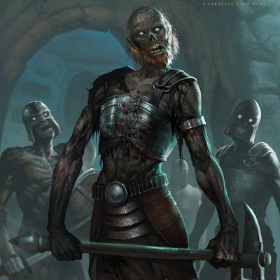 Élőholt lények Zombie10