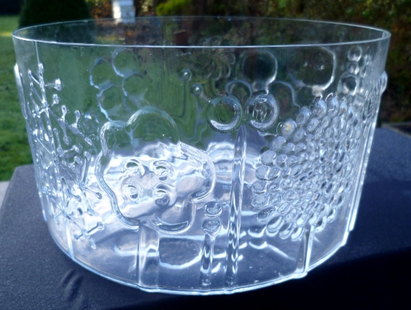 Super fun moulded glass bowl with Boda undertones P1020832