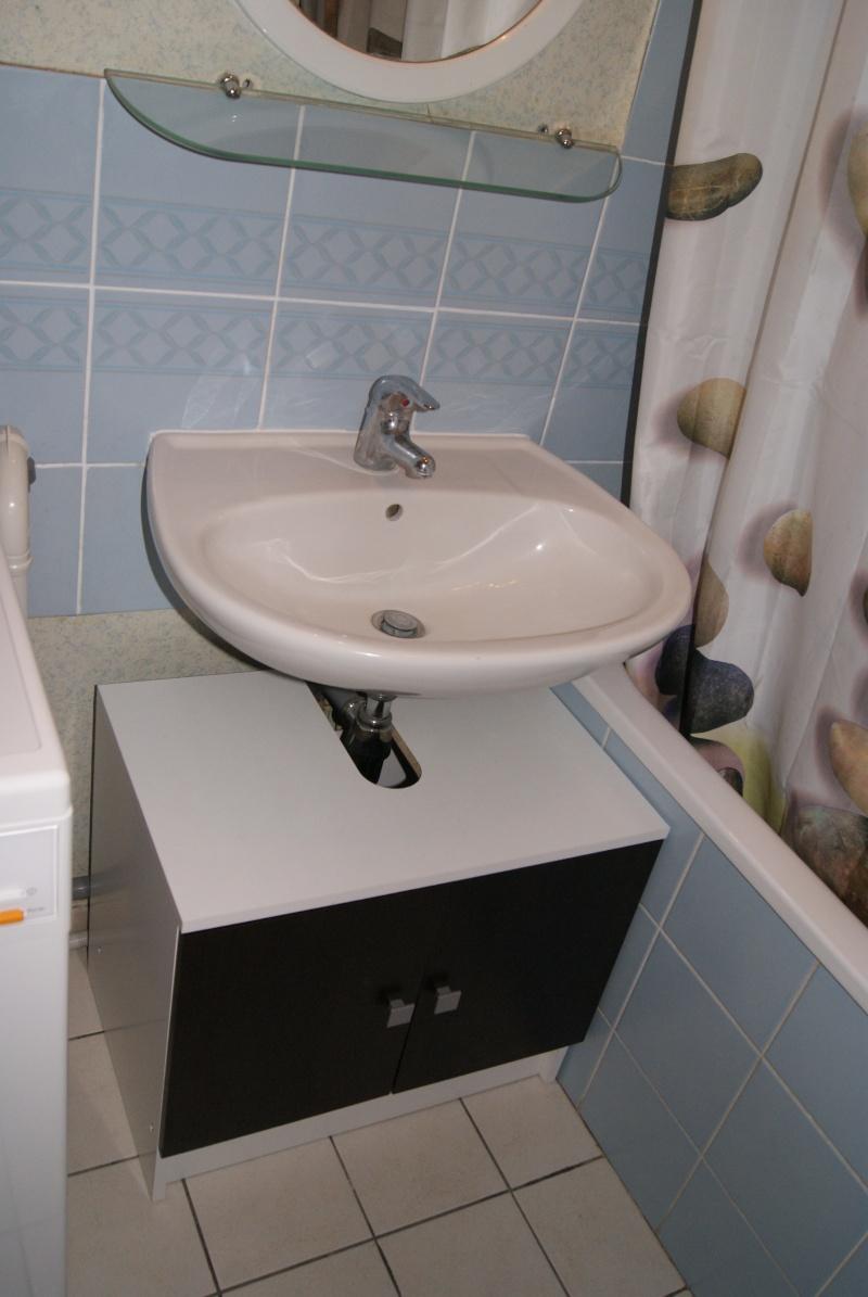 cacher tuyaux sous vier. Black Bedroom Furniture Sets. Home Design Ideas