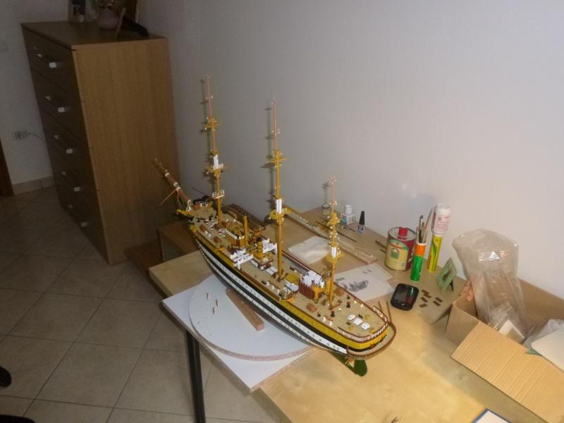 Il mio primo cantiere navale, Amerigo Vespucci, scala 1/100 DeA - Pagina 5 Dmc_0015