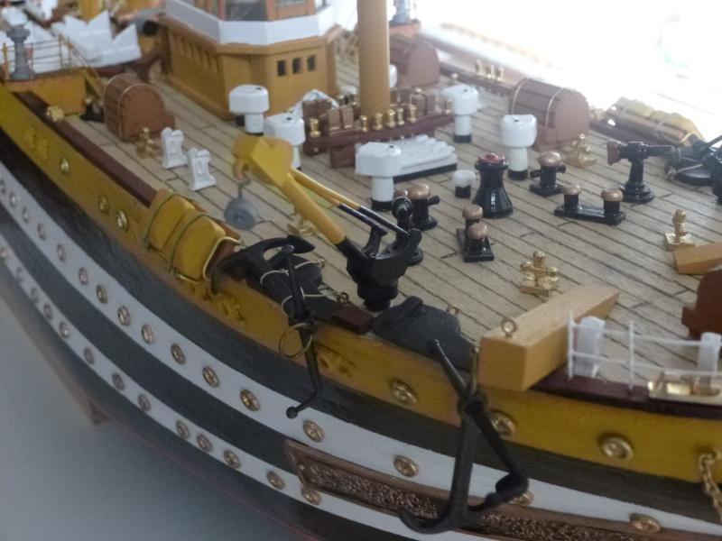 Il mio primo cantiere navale, Amerigo Vespucci, scala 1/100 DeA - Pagina 5 Dmc_0110