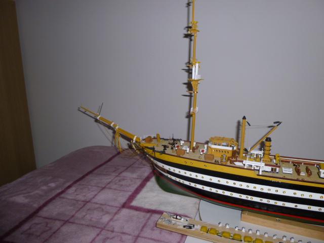 Il mio primo cantiere navale, Amerigo Vespucci, scala 1/100 DeA - Pagina 5 P1010210