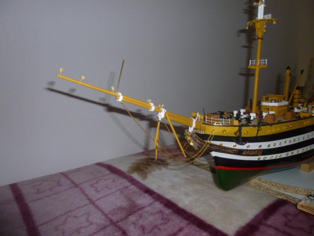 Il mio primo cantiere navale, Amerigo Vespucci, scala 1/100 DeA - Pagina 5 P1010213