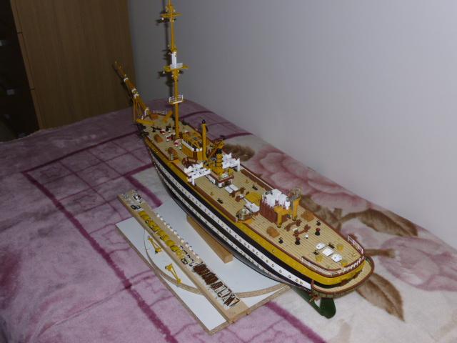 Il mio primo cantiere navale, Amerigo Vespucci, scala 1/100 DeA - Pagina 5 P1010214