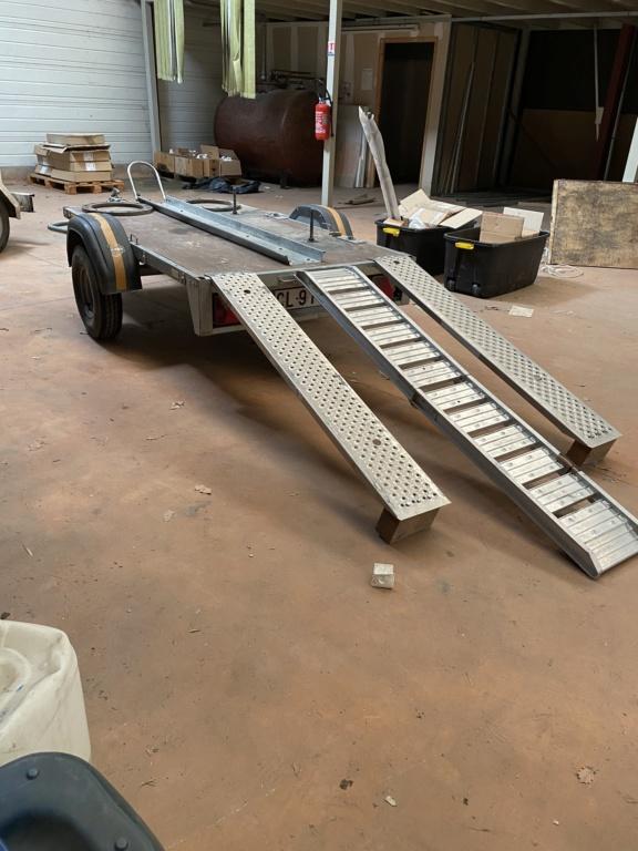 Vends remorque plateau quad 500kgs equipé pour HD  6fdd9810
