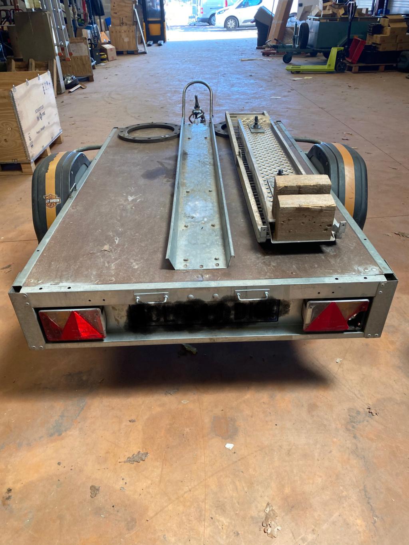 Vends remorque plateau quad 500kgs equipé pour HD  Ac98a910