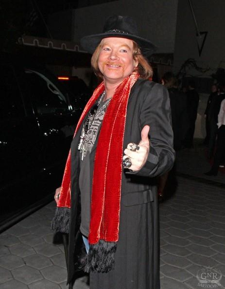 Axl Roses:Sunset Towers, Golden Globes 14917_10