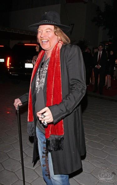 Axl Roses:Sunset Towers, Golden Globes 32149010