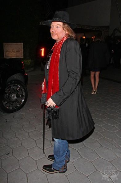 Axl Roses:Sunset Towers, Golden Globes 39601410