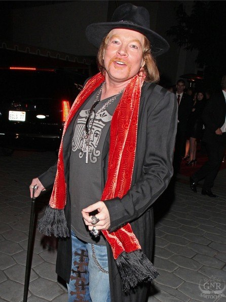 Axl Roses:Sunset Towers, Golden Globes 42232510