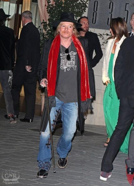 Axl Roses:Sunset Towers, Golden Globes 43125710