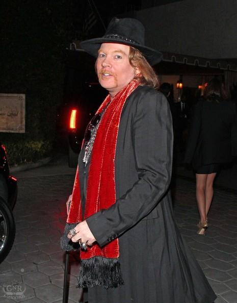 Axl Roses:Sunset Towers, Golden Globes 48398110