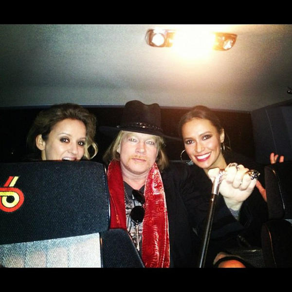 Axl Roses:Sunset Towers, Golden Globes Bammol10