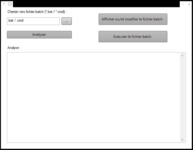 BatchAnalyser [Version 1.0.0.2] Captur10