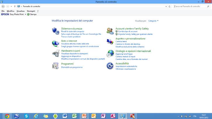 Come funziona Windows 8 Pannel10