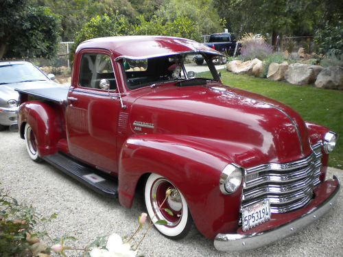 Chevy Pick up 1947 - 1954 custom & mild custom -b-idt10