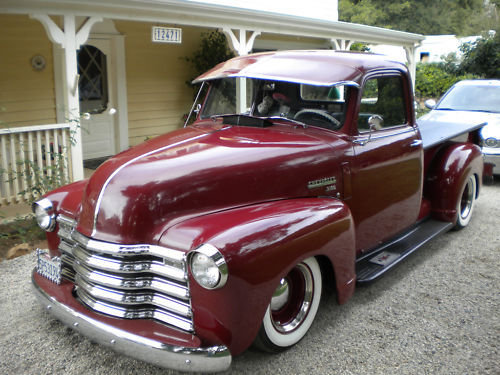Chevy Pick up 1947 - 1954 custom & mild custom -b-idv10