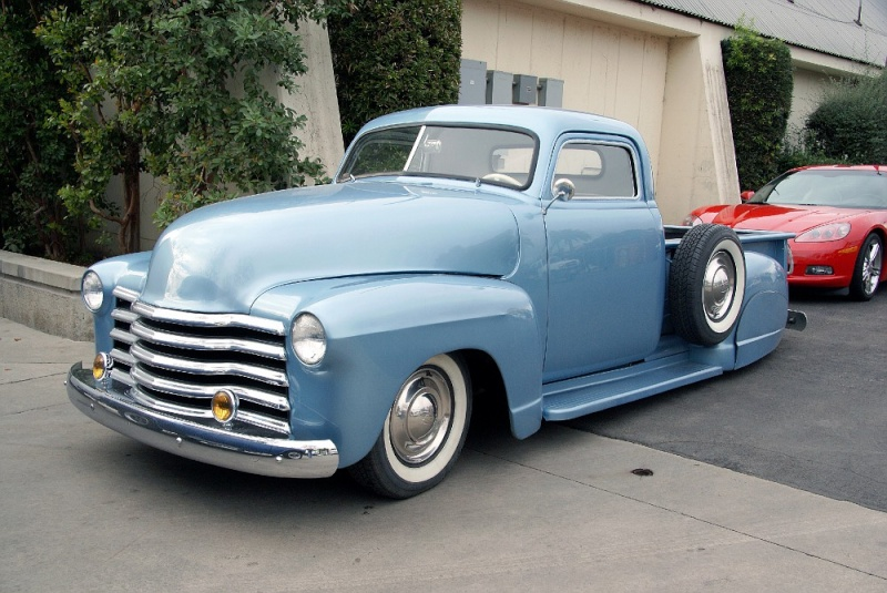 Chevy Pick up 1947 - 1954 custom & mild custom 01220912
