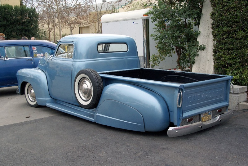 Chevy Pick up 1947 - 1954 custom & mild custom 01220913