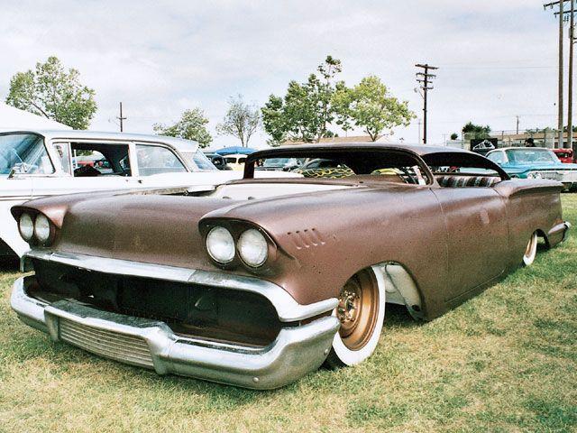 Chevy 1958 custom & mild custom 0810sr10