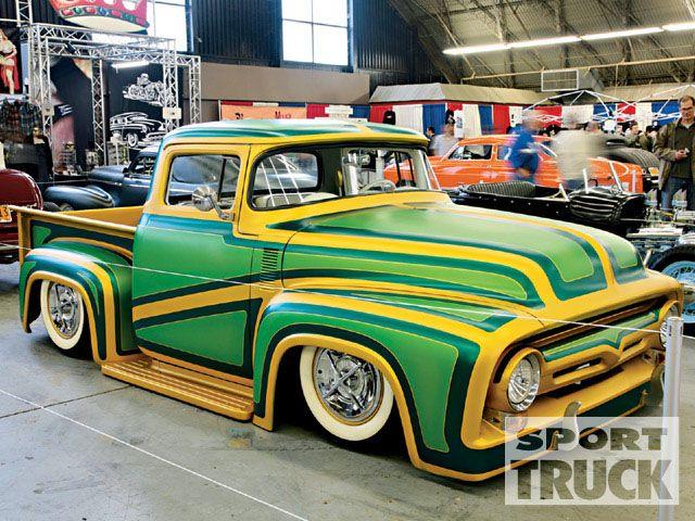 Ford Pick Up 1953 - 1956 custom & mild custom 0906st10