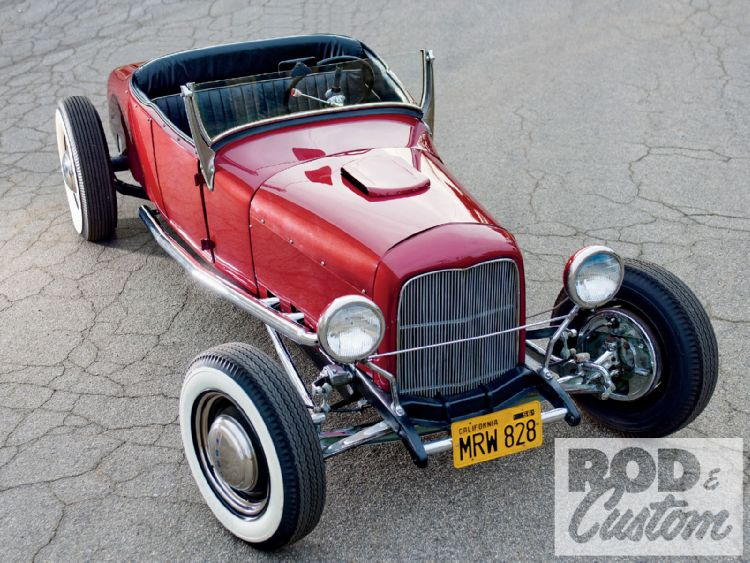 1927 Ford hot rod 1009rc10