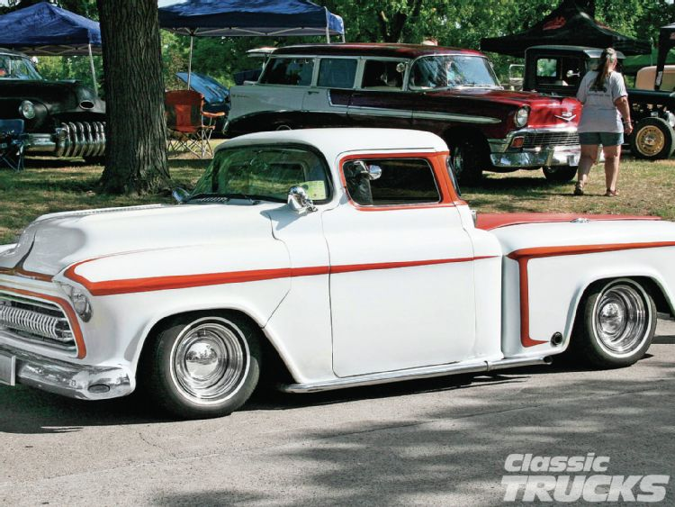 Chevy pick up  1955 - 1959 custom & mild custom 1206cl10