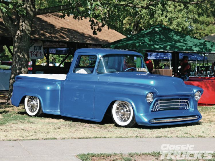 Chevy pick up  1955 - 1959 custom & mild custom 1206cl12