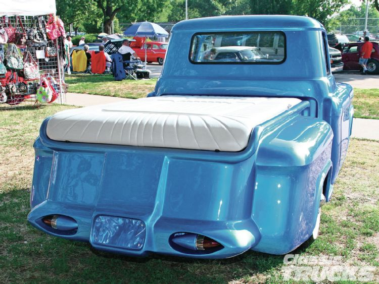 Chevy pick up  1955 - 1959 custom & mild custom 1206cl13