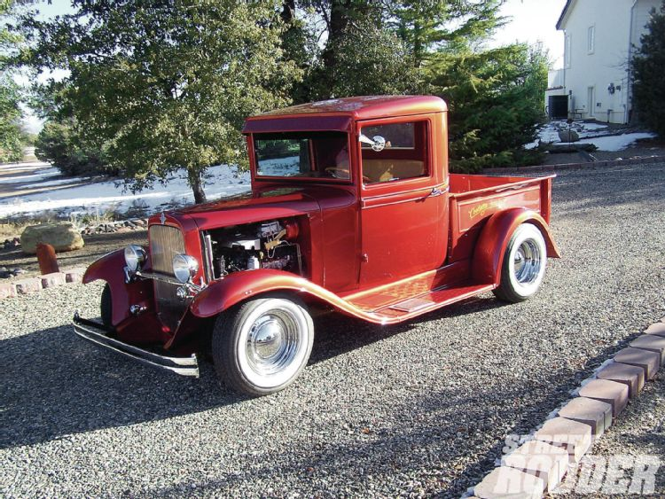 1930's Chevy hot rod 1207sr10