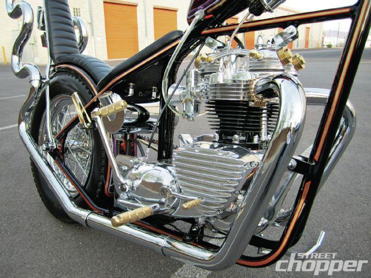 1966 Triumph Bonneville Rigid 1209-s11