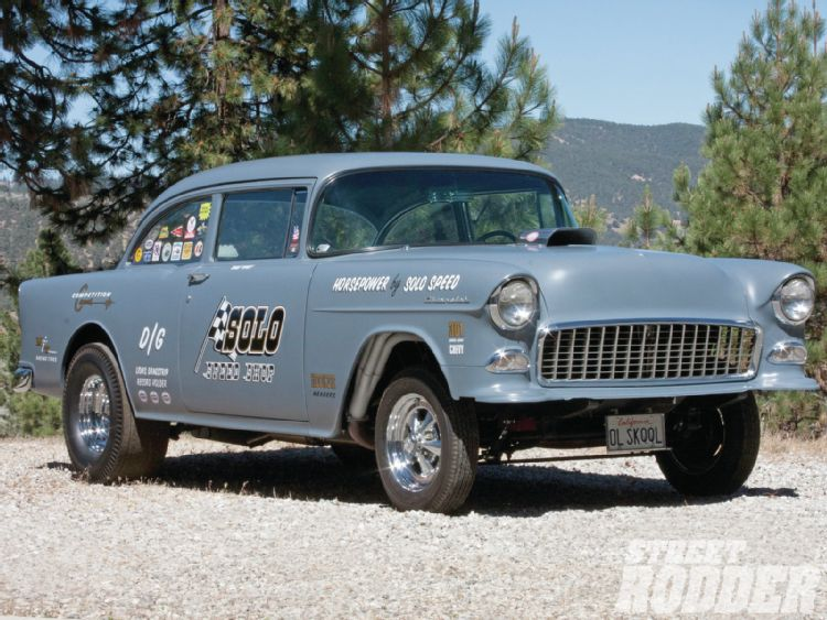 55' Chevy Gassers  1211sr10