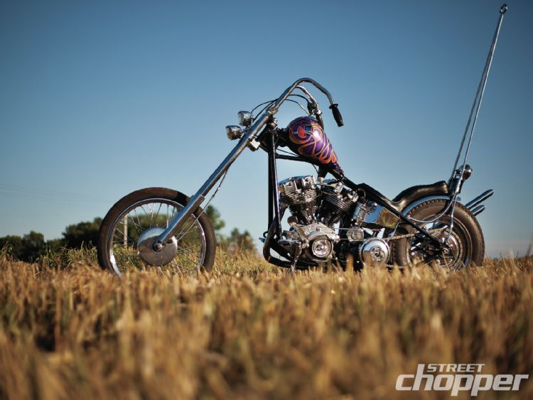 1975 Custom Chopper - Kevin Thoen  1301-s10