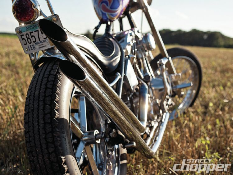 1975 Custom Chopper - Kevin Thoen  1301-s20