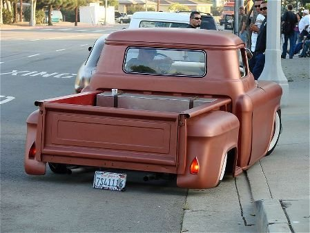 Chevy pick up  1955 - 1959 custom & mild custom 1957-c11