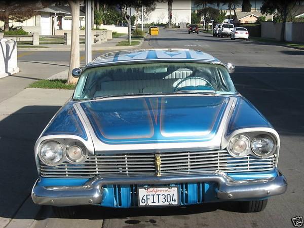 Plymouth  1957 - 1958 custom & mild custom 1957-p15