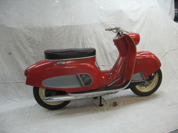 Scooter des 1950's & 1960's 1964_o10
